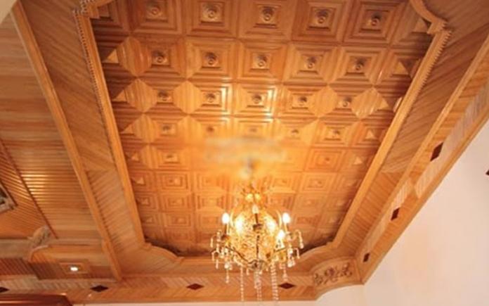Trần gỗ tại Vinh Nghệ An