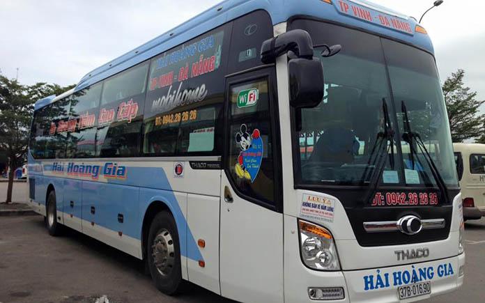 Giá vé xe thanh chương đi Đà Nẵng