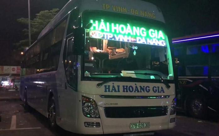 Xe chạy tuyến Vinh đi Đà Nẵng
