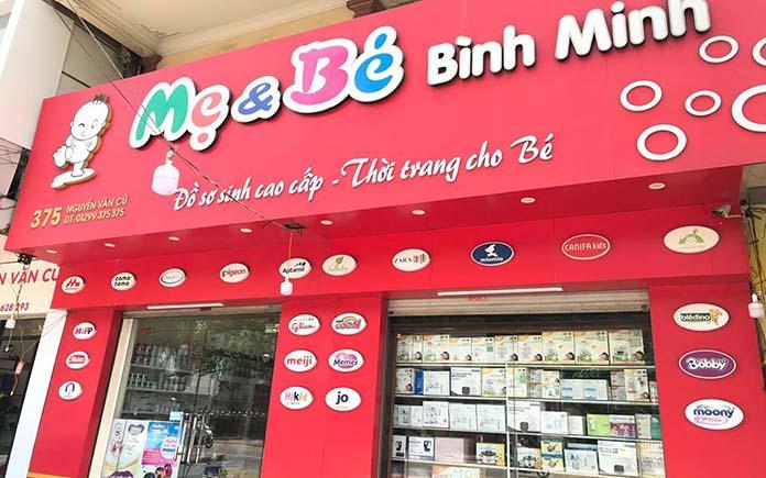 Shop mẹ và bé thành phố Vinh