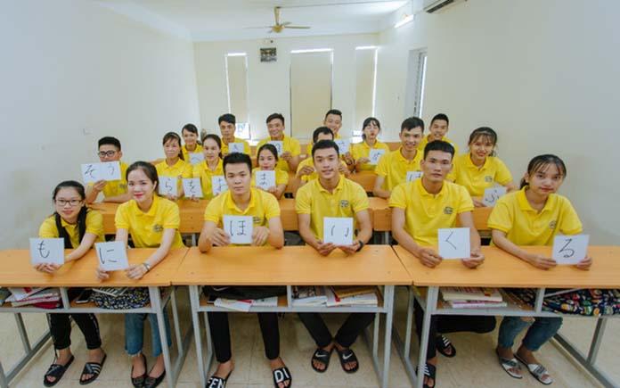 Trung tâm đào tạo tiếng nhật tại Vinh