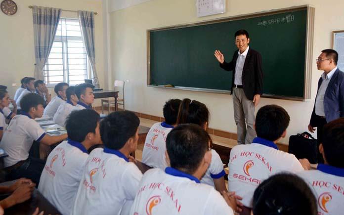 Trung tâm học tiếng nhật tại Vinh