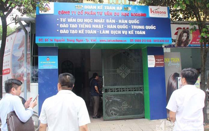 Trung tâm học tiếng nhật thành phố Vinh