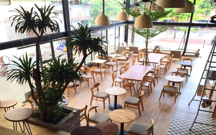 New House Coffee tại Vinh