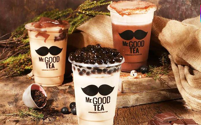 Trà sữa Mr Good Tea